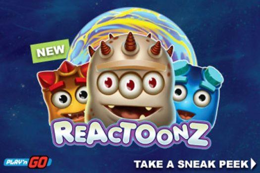 Reactoonz, the alien invasion of Play'n GO to celebrate Halloween