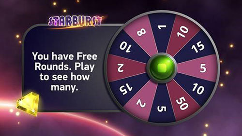 Free Round Widget: Netent's new concept for retaining players with free spins