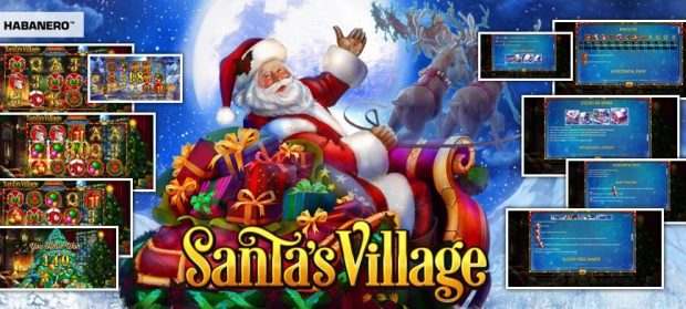 Santa's Village, the new Habanero creation for Christmas