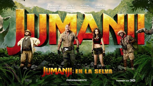 Netent Announces Future Slot Machine on Jumanji ™ Cult Movie
