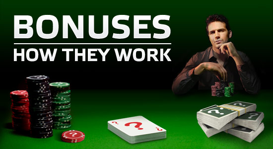 About Online Poker Bonuses