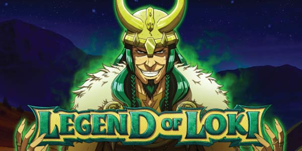 God Loki on the scene with Legend of Loki Slot Machine by iSoftBet