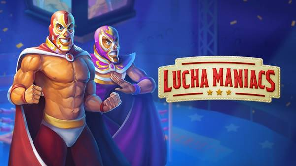 Mexican wrestling with Lucha Maniacs, Yggdrasil's new online slot