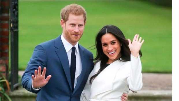 No Escaping Media Hype of Meghan and Harry's Big Day