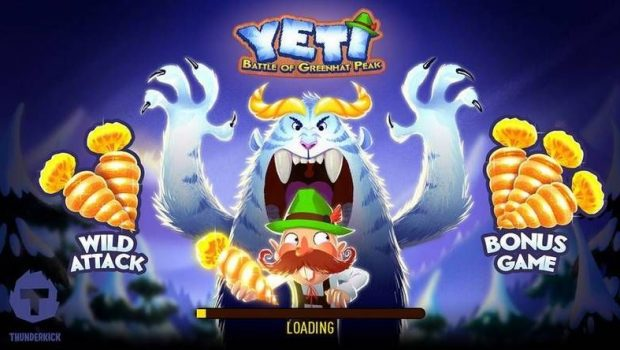 Yeti Battle of Greenhat Peak Thunderkick Slot Machine