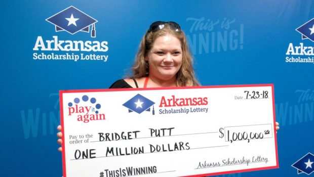 Losing lottery ticket finally ends up a $1M winner for significant Arkansas girl