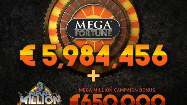 New Mega Fortune jackpot! A Swede earns €6.6 million in a spin