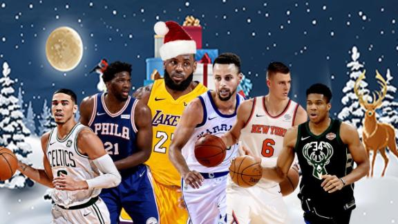 NBA unveils Christmas video games