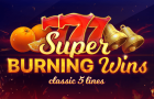 Super Burning Wins, a simple but very attractive slot machine!
