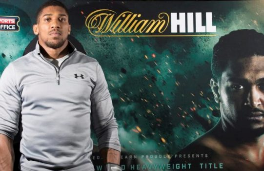 Anthony Joshua becomes William Hill Global Brand ambassador