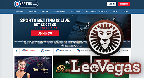 LeoVegas officially debuts its BetUK online betting company