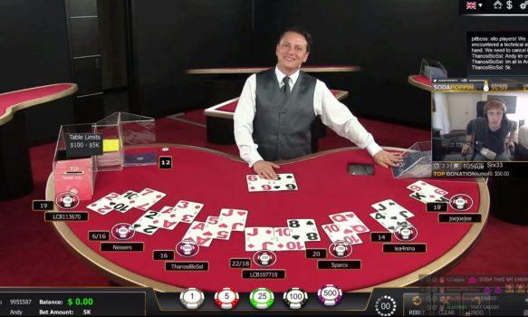 Live online casino & online Blackjack