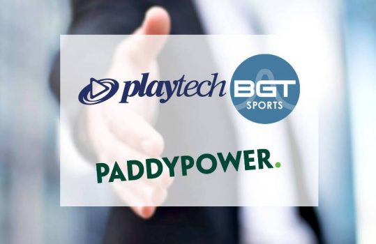 Playtech BGT sports extends Paddy power retail cocky service terminals contract