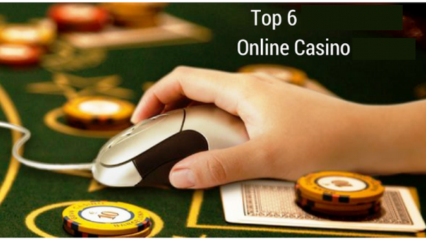 Top 6 online casinos to take part 2019