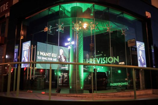Kinetic and Paddy Power Bring EU- Revision To Dublin