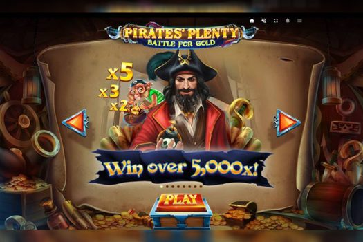 Pirates' Plenty Battle for Gold Slot Game Review