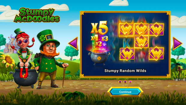 Jump into a never-ending party with Stumpy McDoodles