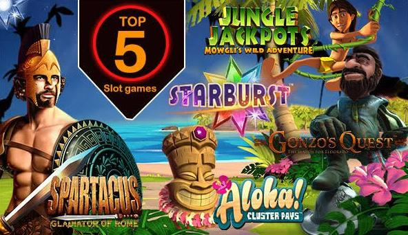 Top UK casino slots game