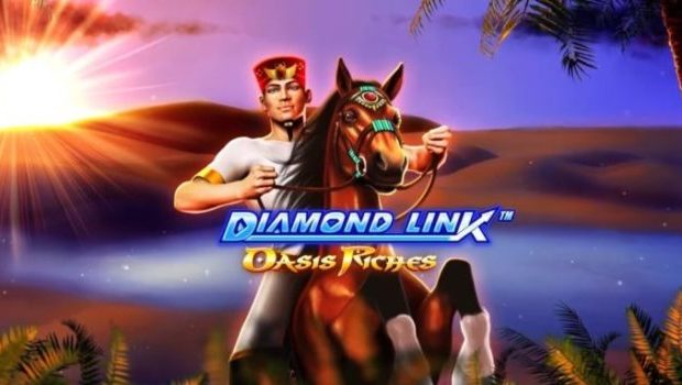 Diamond Link: Oasis Riches Casino Game Review