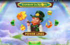 Rainbow Jackpot Power Lines Casino Game Review