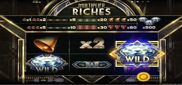 Multiplier Riches Casino Game Review