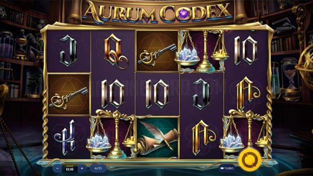 Aurum Codex slot review