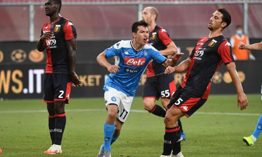 NAPOLI VS GENOA Betting Review