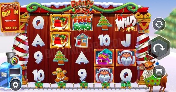 Rudolph Gone Wild Slot Review