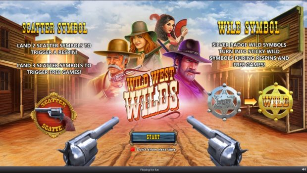 Western Wilds Slot Review