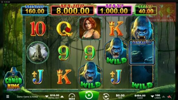 Congo King Quad Shot Slot Review