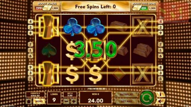 Gold X Slot Review