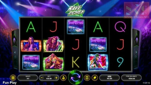 Rave Riches Slot Review