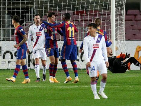BARCELONA VS HUESCA Betting Review
