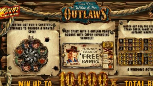 Van Der Wilde and The Outlaws Slot Review
