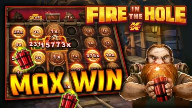 Fire In The Hole Slot Review