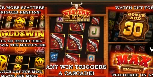 Western Gold Megaways Dice Slot Review