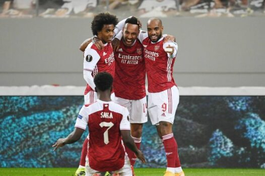 Arsenal vs Slavia Prague Europa League 2nd Quarterfinal