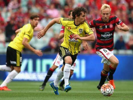 Western Sydney Wanderers FC vs Wellington Phoenix Australian A-League – 26 May