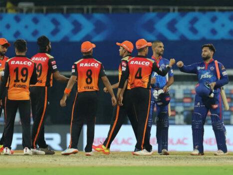 Delhi Capitals vs Sunrisers Hyderabad, 33rd Match – IPL 2021 – 22 September