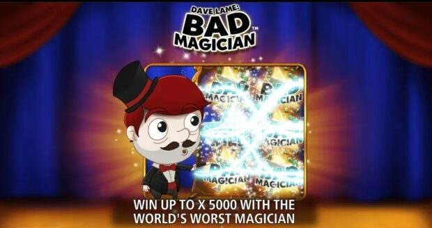 Dame Lame Bad Magician Slot Review